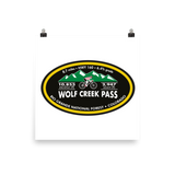 Wolf Creek Pass - Rio Grande National Forest, CO Photo Paper Poster