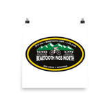 Beartooth Pass North - Red Lodge, MT Photo Paper Poster