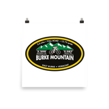 Burke Mountain - East Burke, VT Photo Paper Poster