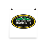 Lee Canyon 156-158 - Las Vegas, NV Photo Paper Poster