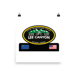 Lee Canyon - Las Vegas, NV Photo Paper Poster