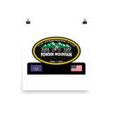 Powder Mountain - Eden, UT Photo Paper Poster