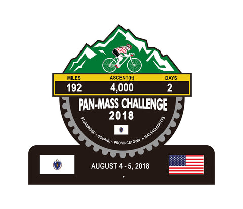 Pan-Mass Challenge 2018 Trophies