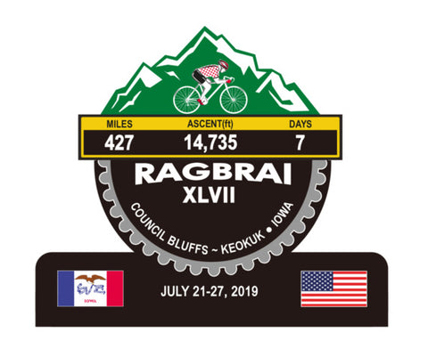 RAGBRAI 2019 IOWA - Trophy