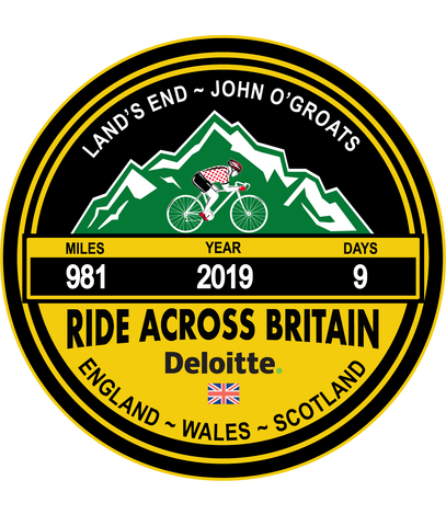 Ride Across Britain 2019 Trophy