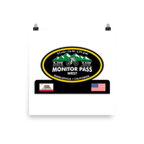 Monitor Pass West - Markleeville, CA Photo paper poster
