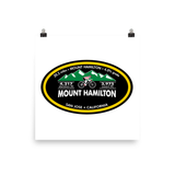 Mount Hamilton - San Jose, CA Photo Paper Poster