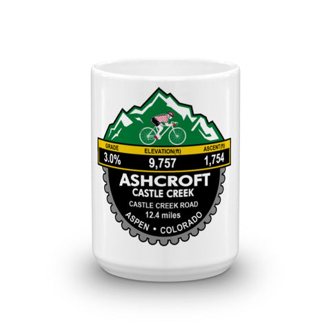 Ashcroft Castle Creek - Aspen, CO Mug