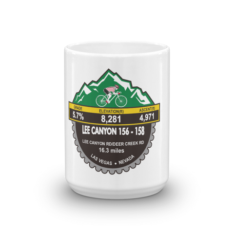 Lee Canyon 156-158 - Las Vegas, NV Mug