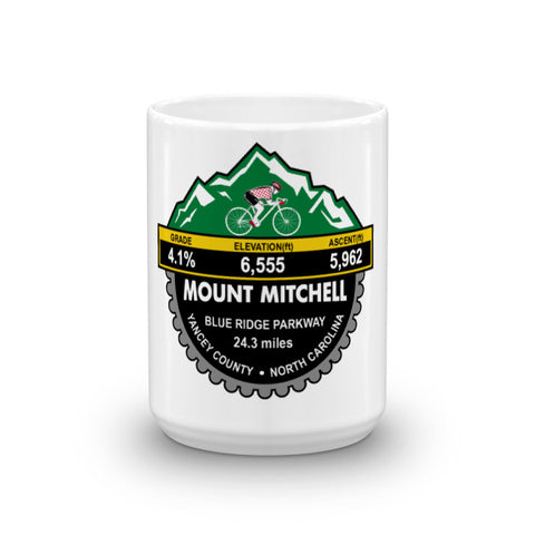 Mount Mitchell - Yancy County, NC  Mug
