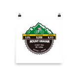 Mount Graham - Safford, AZ Photo Paper Poster