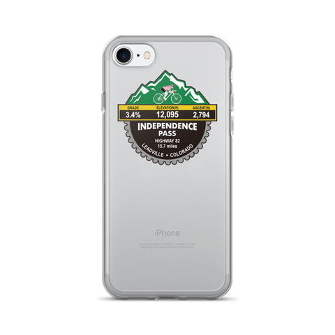 Independence Pass - Leadville, CO iPhone 7/7 Plus Case
