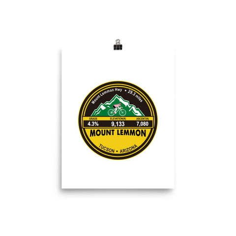 Mount Lemmon - Tucson, AZ Photo paper poster