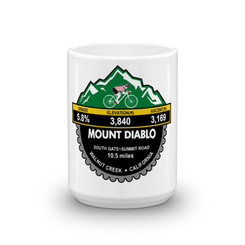 Mount Diablo South Gate - Summit Road Mug