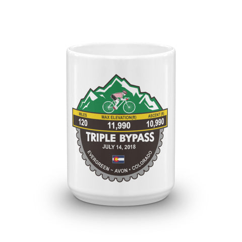 Tripple Bypass 2018, CO - Mug