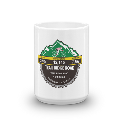 Trail Ridge Road - Estes Park, CO Mug