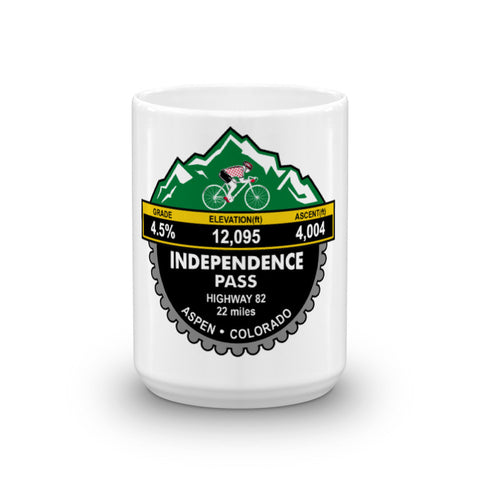 Independence Pass - Aspen, CO Mug