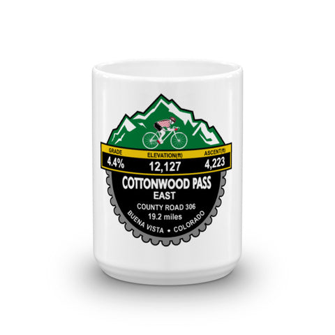 Cottonwood Pass East - Buena Vista, CO Mug