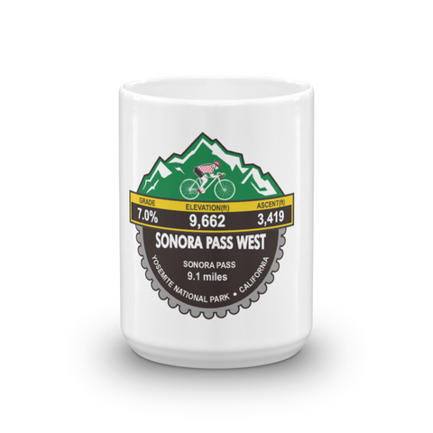 Sonora Pass West - Yosemite National Park, CA Mug