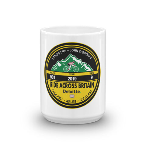 Ride Across Britain 2019 Mug