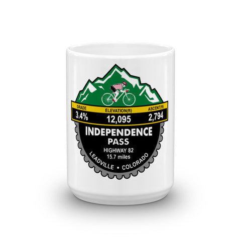 Independence Pass - Leadville, CO Mug