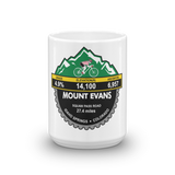 Mount Evans - Idaho Springs, CO Mug