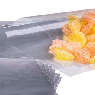 50 Cellophane bags with 50 silver twist ties