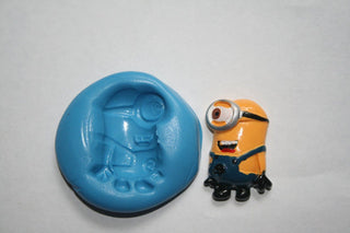 Minion Cupcake Topper Mould - Kitchen and Baking
