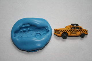New York taxi Cupcake Topper Mould - Kitchen and Baking