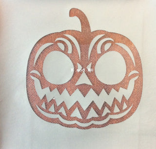 Pumpkin mesh stencil - Kitchen and Baking