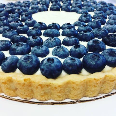 Blueberry Cream Tart
