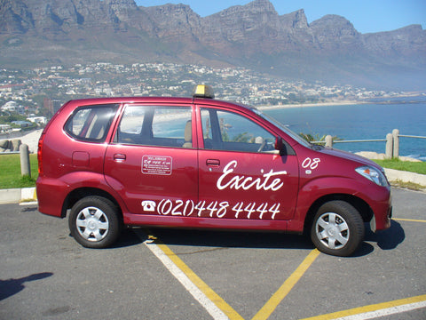 Cape Town transport systems, metered cabs