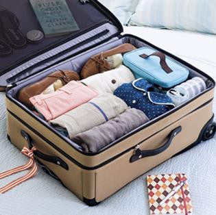 How To Pack Light: Roll Your Clothing