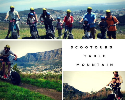 Scootours Table Mountain Cape Town