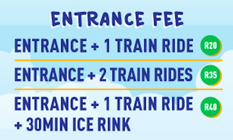 Blue Train Park Entrance Fee