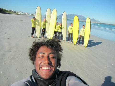 Surfing Lesson Cape Town