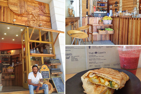 Elixir Cafe in Cape Town for vegans and vegetarians