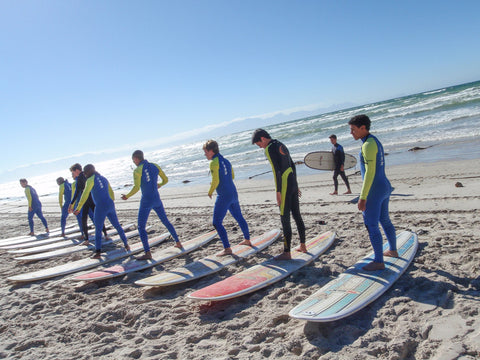 Summer In Cape Town, learn to surf, Muizenberg beach, gary's surf school