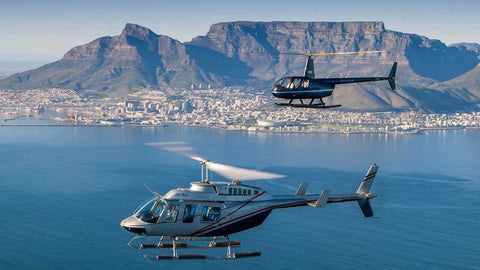 Helicopter tour in Cape Town