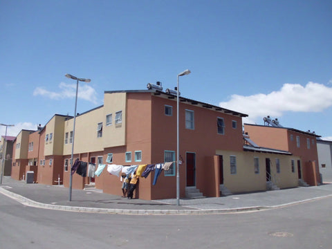 Housing in Langa Cape Town, Vamos Township Tour