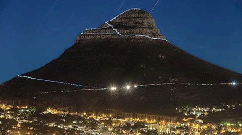 Summer In Cape Town, Lions Head, full moon hike