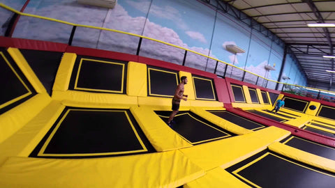 What to do in Cape Town's winter, Jump Around indoor trampoline park