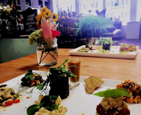 Raw and Roxy Restaurant in Cape Town for vegetarians and vegans