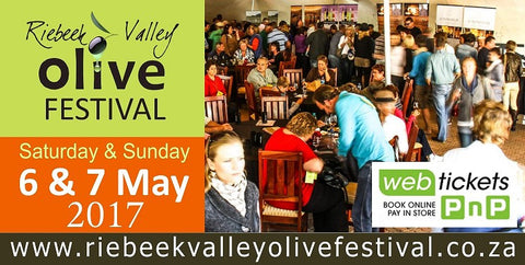 Cape Town Events, May 2017, Olive Festival