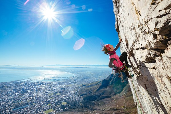 Rock Climbing In Cape Town - Table Mountain