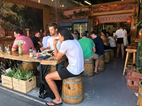 Sexy Food Restaurant, Cape Town, for vegetarians and vegans