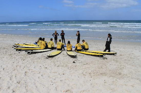 Beginner Surf Lesson In Cape Town
