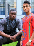 Ade African Men's Clothing,Two Piece Suite, Shirt & pants, Embroidered Attire,African Fashion, African Wedding