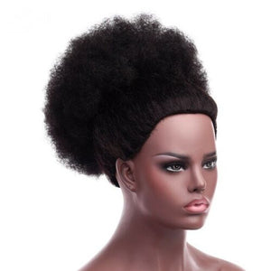 Abena Extra Large 12inches Synthetic Ponytail Afro Kinky Natural Hair Puff