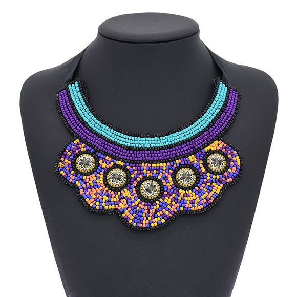 Desta  African  Choker Necklace Jewelry Nigerian wedding Ghana wedding